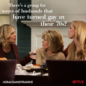 Grace and Frankie Renewed for a Second Season