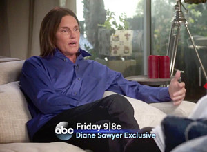 Bruce Jenner Interview With Diane Sawyer - Credit ABC News